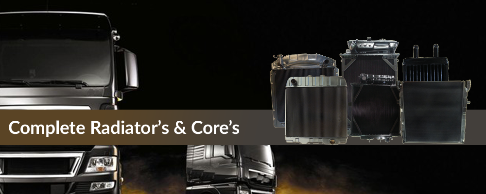 Complete Radiators And Cores